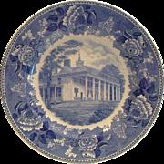"""Wedgwood Washington Bicentennial Plate """"Mount Vernon"""" - 1932"""