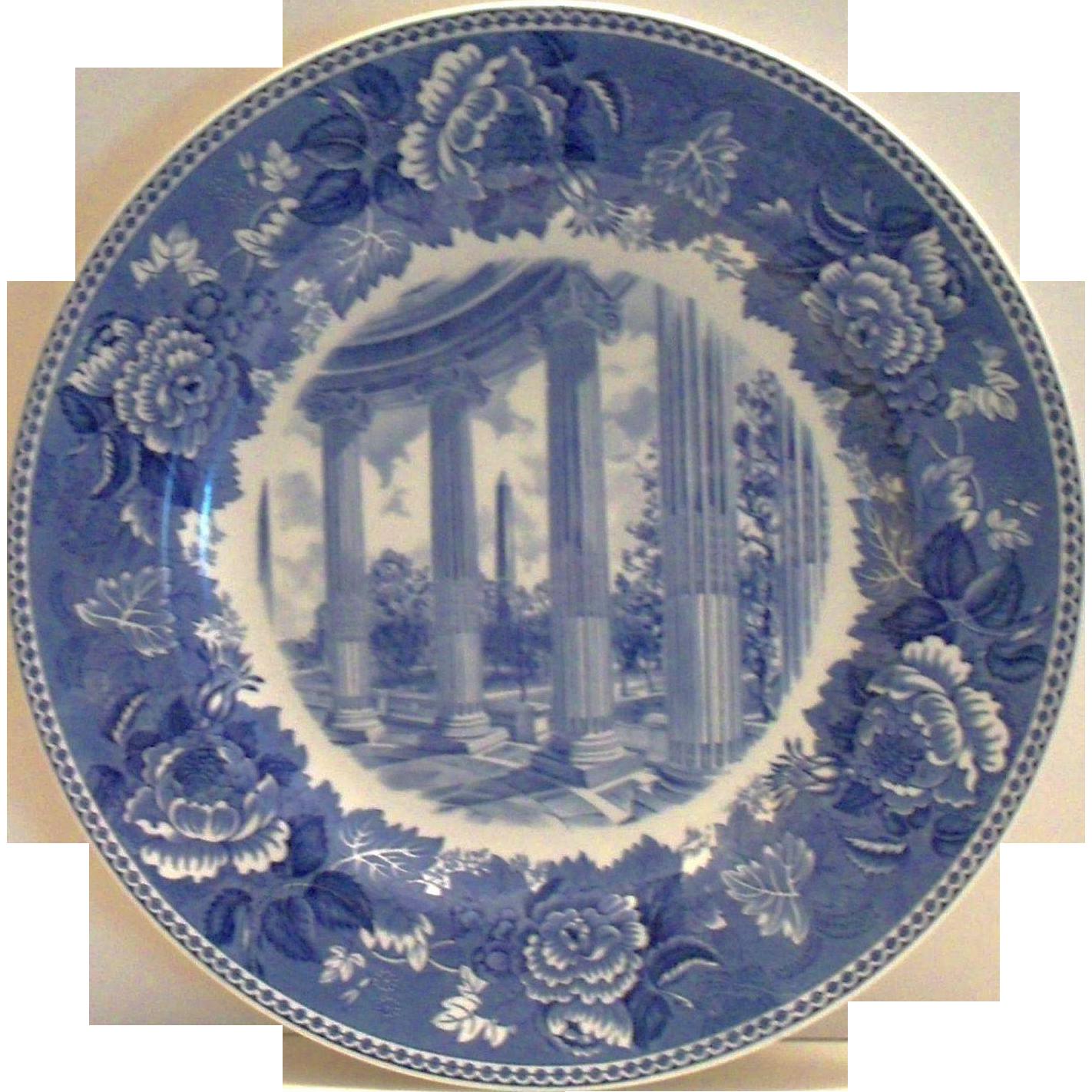 "Wedgwood: Washington Bicentennial Plate "" Washington Monument"" Porcelain Plate"