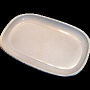 "Russell Wright American ""Modern"" Gray Porcelain Platter"