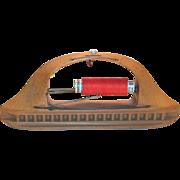 Vintage Wooden Textile Loom Shuttle