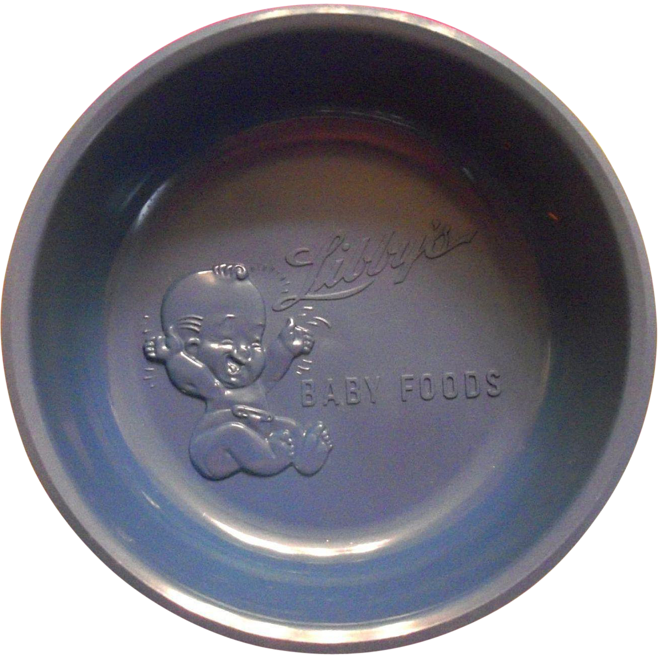 Vintage Advertising Libby's Baby Food Plastic Feeding Bowl