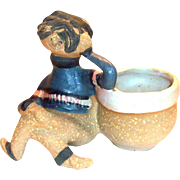 "Metlox Poppytrail Pottery Poppet ""Mike"" Planter"