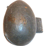 Vintage E. & Co., NY Pewter Easter Egg Chocolate/Ice Cream Mold