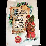 Tuck's Be This Christmas Fair Postcard - 1914