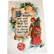 Tuck's Be This Christmas Fair Postcard - 1914