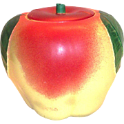 Hull Porcelain Apple Cookie Jar