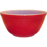 Vintage Pyrex Primary Color Red 1 1/2 Qt Bowl
