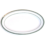 Jackson Vitrified China Restaurantware Smaller Oval Plate