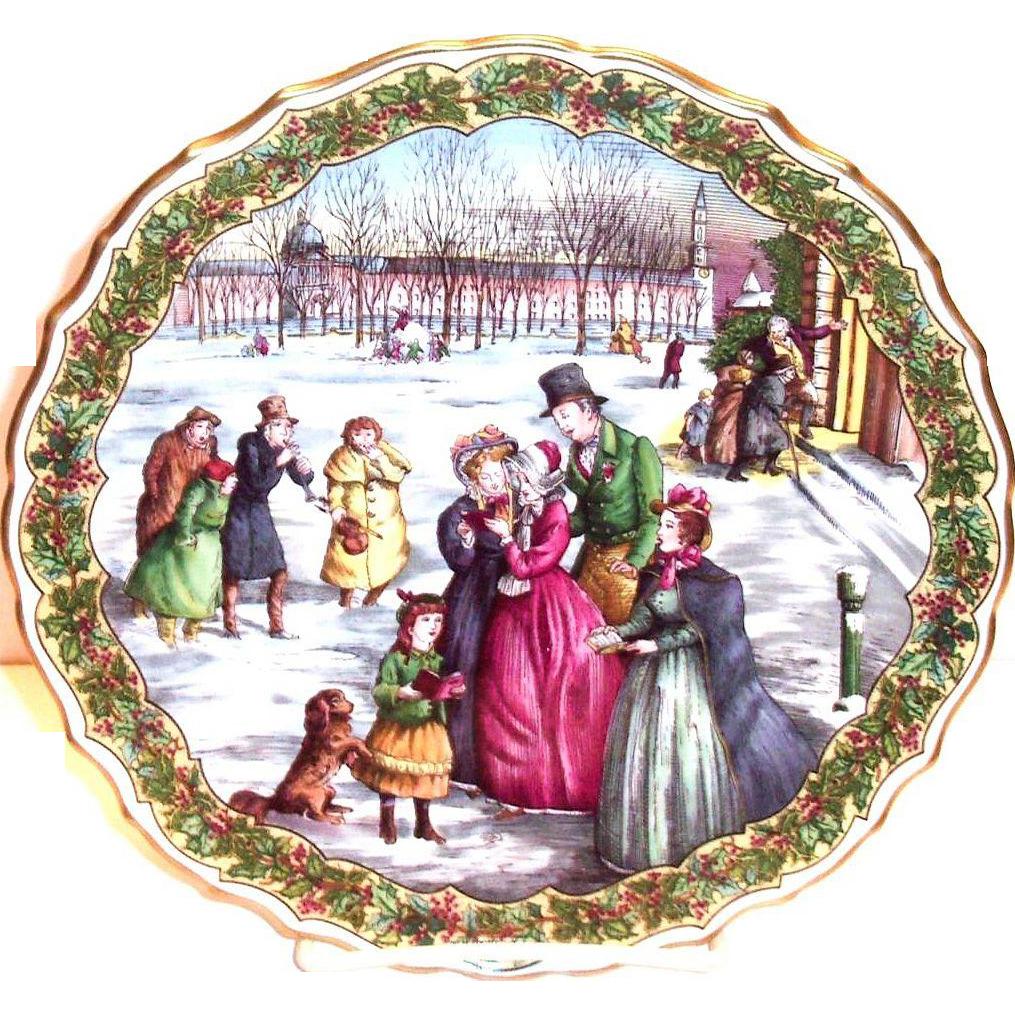 Spode Christmas Plate