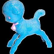 Vintage Irwin Little Blue Lamb Plastic Baby Rattle