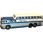 Vintage 1950's Daiya, Japan Toy Greyhound Bus