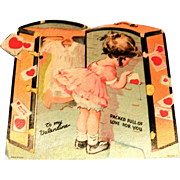 To My Valentine: Packed Full Of Love For You Mechanical Valentine - 1936