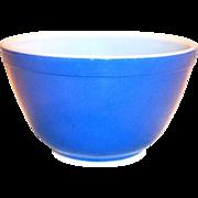 Vintage Blue Pyrex #401, 1 1/2 Pt. Bowl