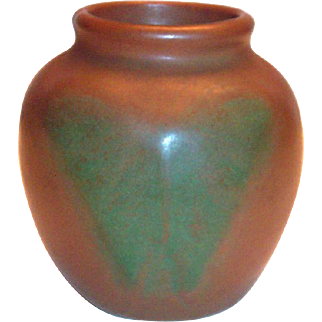 Vintage Van Briggle Small Butterfly Pottery Vase
