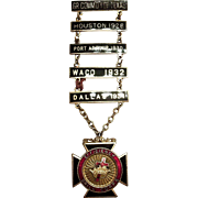 Masons' York Rite Knights Templar Order Efficiency-Drill Medal