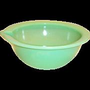 Vintage McKee Jadite Spouted Bowl