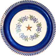 Texas Society, N.S.D.A.R. Golden Jubilee, 50th State Conference 1949 Star Plate