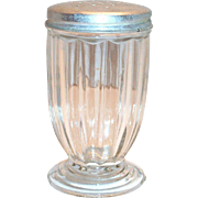 Jeanette Glass Co.: Jennyware Footed Shaker