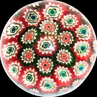Murano Style Small Glass Paperweight