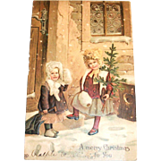 A Merry Christmas To You Vintage Postcard - Germany