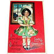 International Art Publishing: Love's Greeting Postcard