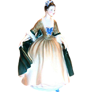 "Royal Doulton ""Elegance"" Bone China Figurine"
