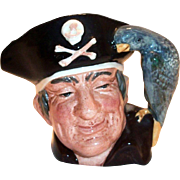 Royal Doulton Long John Silver Character Mug - 1951 Limited Edition