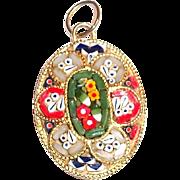 Lovely Mosaic Pendant - Italy