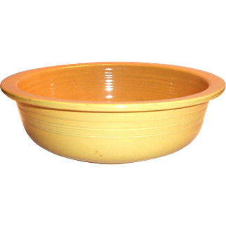 Fiesta Golden Yellow Nappy Bowl - 1938