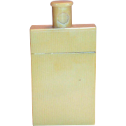 Vintage Celluloid Powder Bottle