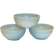 Fire King Turquoise Blue Chili/Cereal Bowl