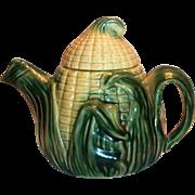 Stafford Ware Corn Cob Pottery Teapot