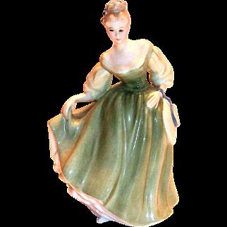 "Royal Doulton ""Fair Lady"" 1962 Porcelain Figurine"