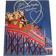 Let's Coast Along Together Valentine Card