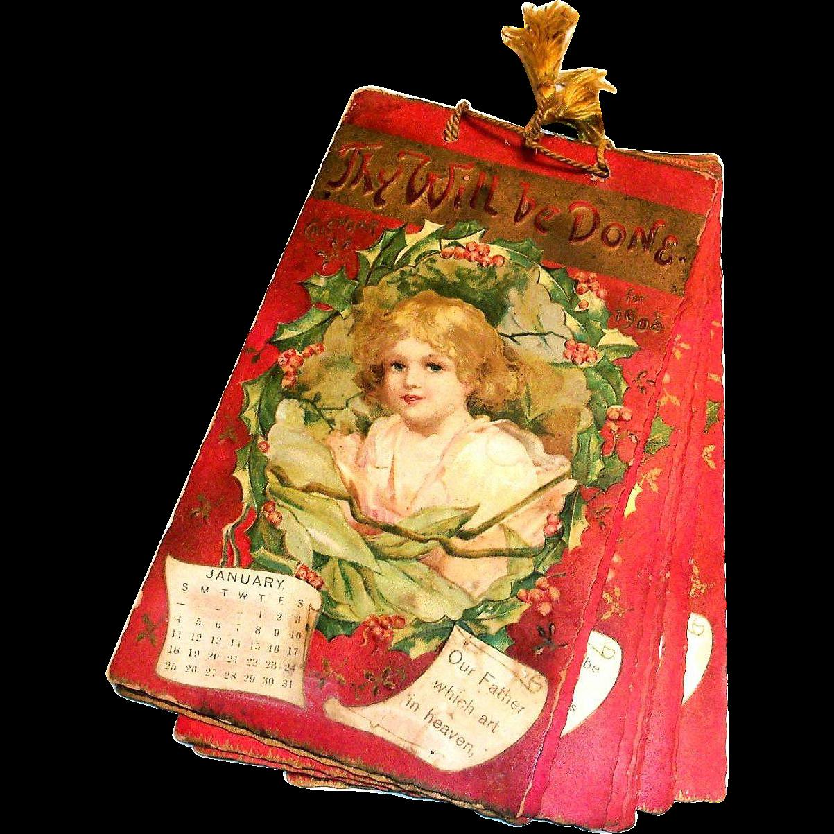 International Art Publishers Co.: 1903 Postcards Calendar