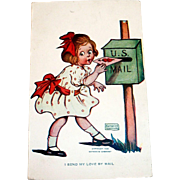 Katharine Gassaway: I Send My Love By Mail Postcard
