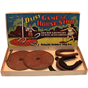 Daisy Game Of Horse Shoe 1920's Game In Original Box