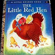 Little Golden: The Little Red Hen Children's Book - 1954