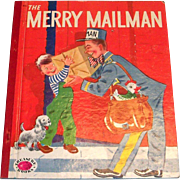 Treasure Books: The Merry Mailman Children's Book - 1953