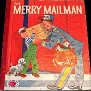 Treasure Books: The Merry Mailman Children's Book - 1953