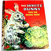 Little Golden: The White Bunny And His Magic Nose, 1957, C Edition