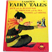 "Vintage Wonder Books: Children's ""Famous Fairy Tales"" Book - 1949"