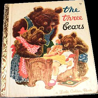 Little Golden: The Three Bears Book, 1948, B Edition