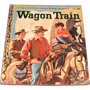 Little Golden Books: Wagon Train, 1958