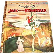 Little Golden: Tenggren's: Jack And The Beanstalk Children's Book - 1956, B Edition