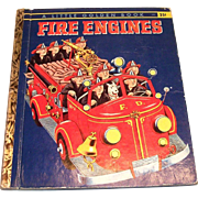 Little Golden: Fire Engines, 1959, A Edition