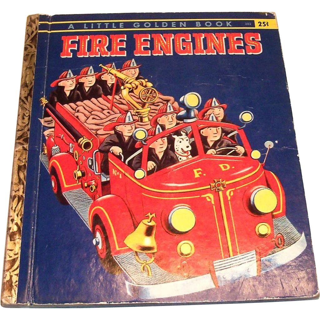 Little Golden: Fire Engines, 1959, A Edition