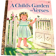Little Golden Books: A Child's Garden Of Verses, 1969, F Edition