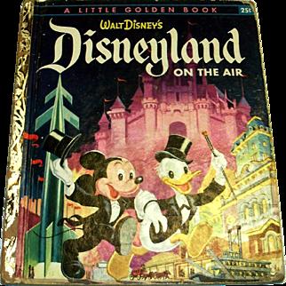 Little Golden: Disney's: Disneyland On The Air Children's Book, 1955
