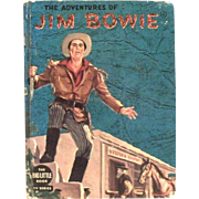 Little Big Book TV Series: The Adventures Of Jim Bowie Book